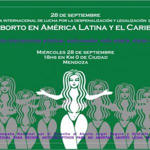 """""""Día internacional de lucha por la despenalización y legalización del aborto en América Latina y el Caribe"""" (28-09-2011)"""