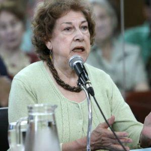 Nuestra compañera Elba Morales recibirá una distinción en la Universidad Nacional de San Luis (05-12-2011 )