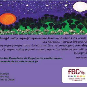 40 años de la Asociación Ecuménica de Cuyo (18-12-2013)