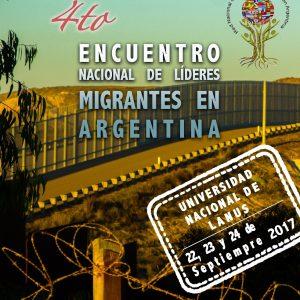 4to. Encuentro de Líderes Migrantes en Argentina (18-09-2017)