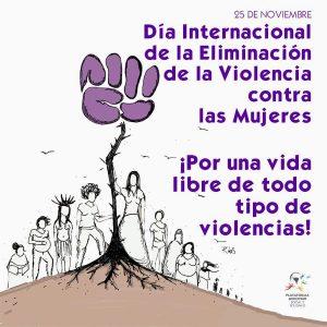 Día Internacional de la NO Violencia contra las Mujeres (26-11-2018)