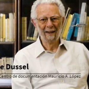 Enrique Dussel visitó su Fondo Documental en la Biblioteca Mauricio A. López (22-02-2019)
