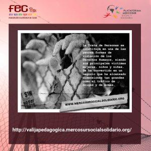 Día Mundial CONTRA la trata   – 2020