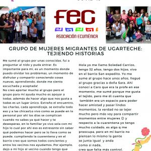 Mujeres Migrantes en Ugarteche y Guaymallén
