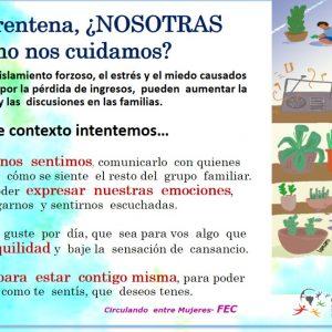Mujeres y Género en #Cuarentena