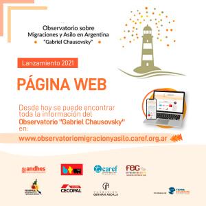 """Lanzamos el sitio web del Observatorio """"Gabriel Chausovsky"""""""